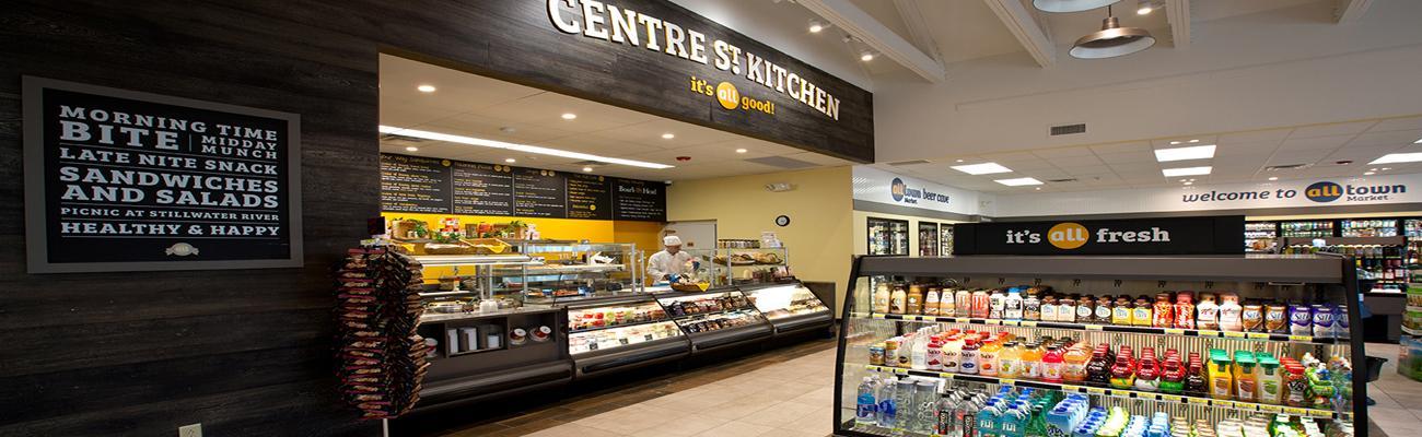 Alltown convenience store interior