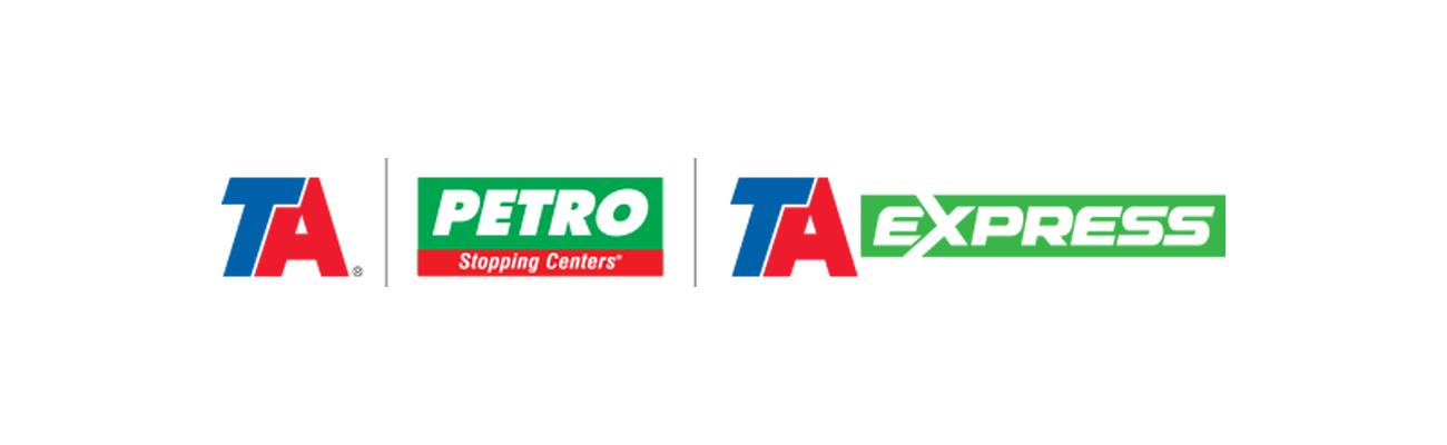 TravelCenters of America's logos