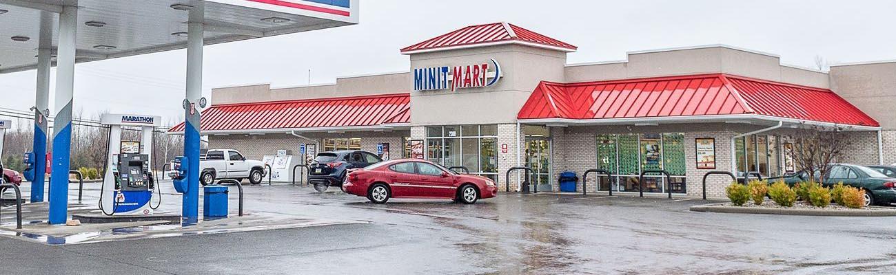 A Minit Mart convenience store