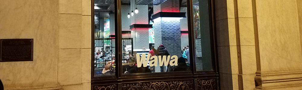 Wawa's Independence Mall store