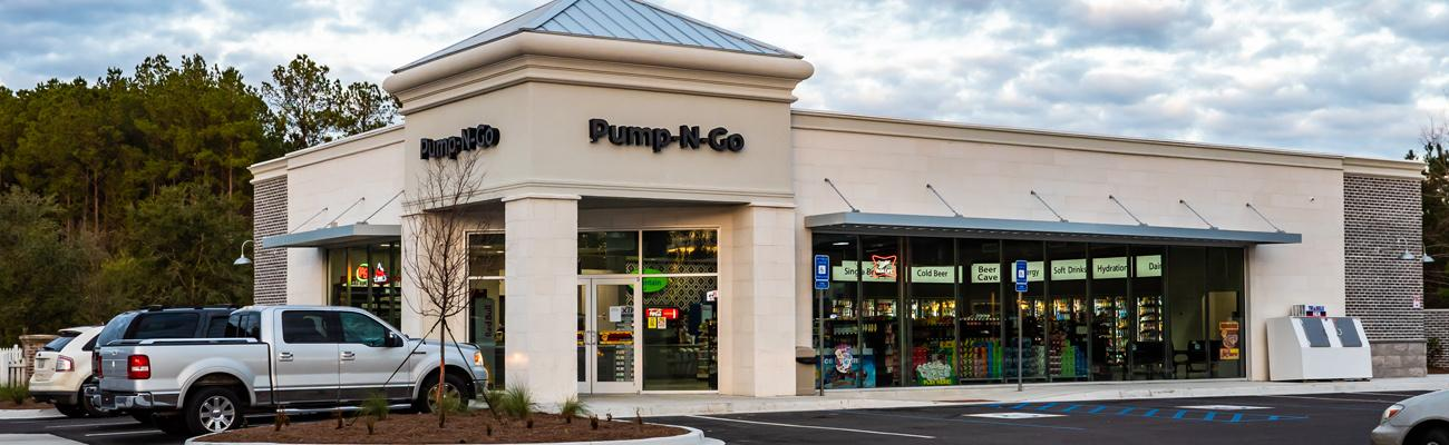 Pump-N-Go at The Shops at Rice Hope in Port Wentworth, Ga.