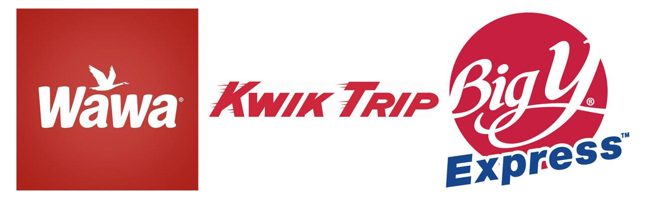 Kwik Trip, Wawa and Big Y rank among the top U.S. large companies.