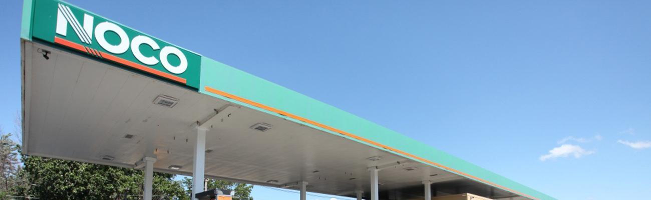 NOCO Express fuel canopy