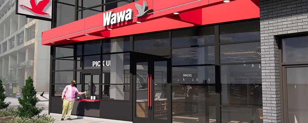 Wawa store render
