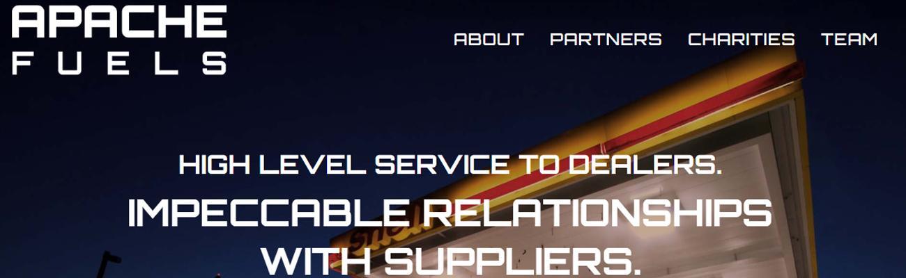 Apache Fuels website