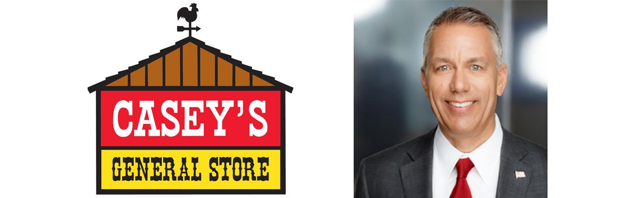 Darren Rebelez is taking the reins as the new president and CEO of Casey's General Stores Inc.