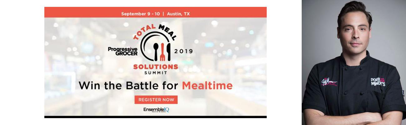 Total Meal Solution Summit and Jeff Mauro, winner of season seven of Food Network Star