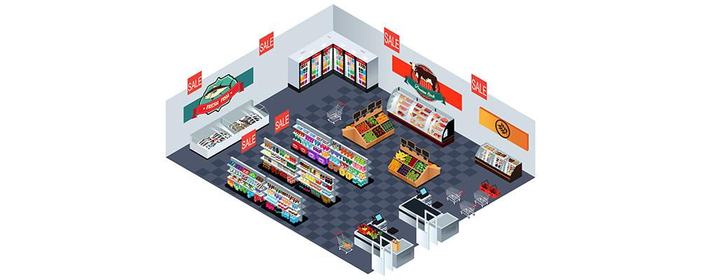C-store layout
