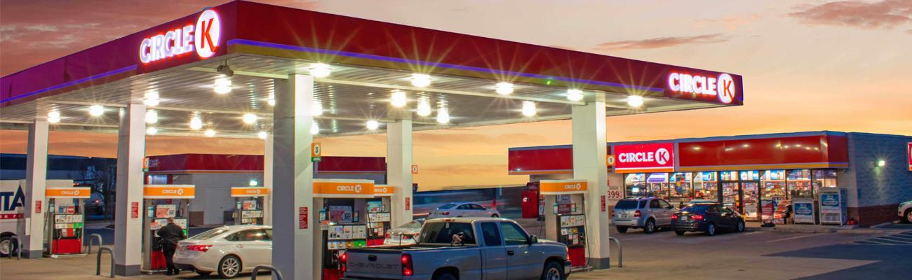 A Circle K convenience store and gas station