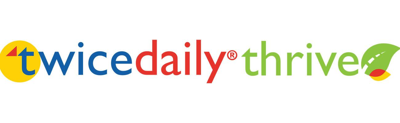 Logo for Twice Daily Thrive program
