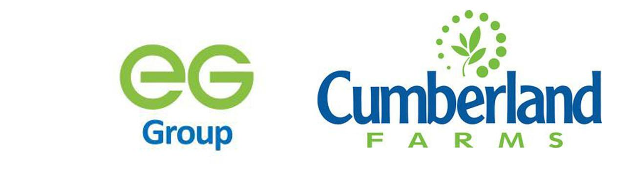 Logos for EG Group and Cumberland Farms