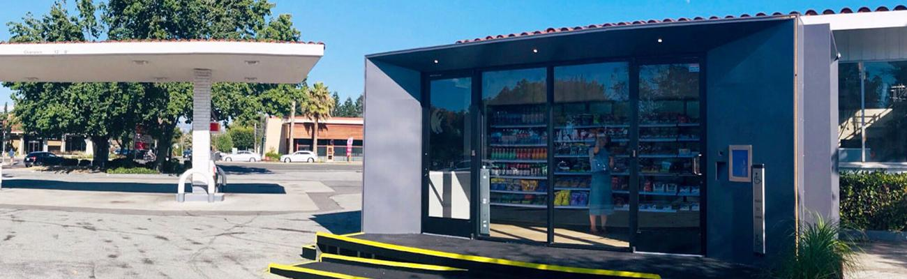 Loop Neighborhood Market's autonomous store in Campbell, Calif.