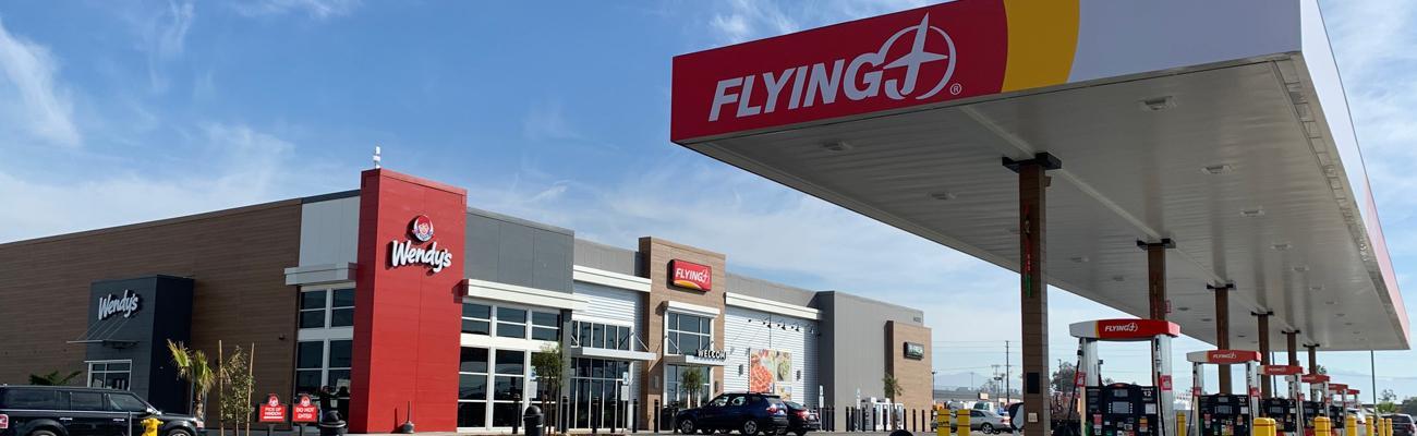 Flying J Travel Center in Fontana, Calif.