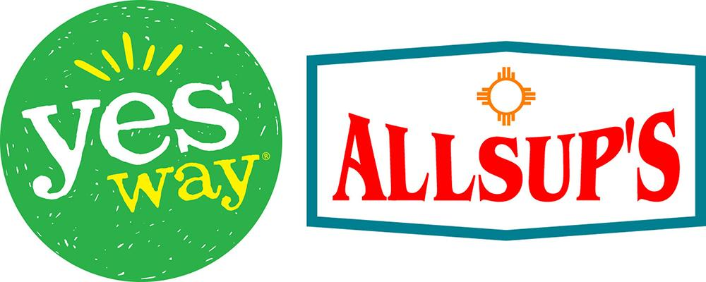 Yesway & Allsup's logos