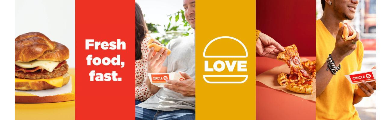 Circle K's Fresh Food, Fast concept