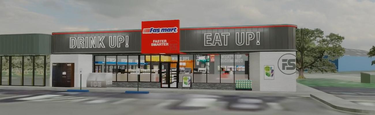 Rendering of a prototype for fas mart