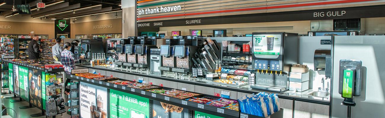 The theProsper, Texas,7-Eleven Evolution Store