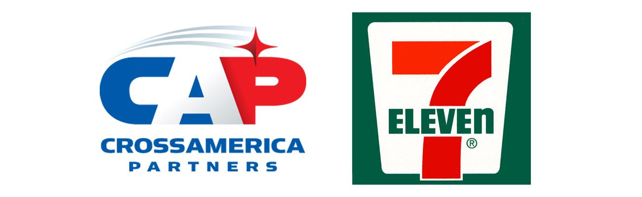 Logos for CrossAmerica and 7-Eleven