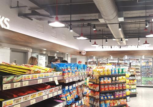 At 9,200 square feet, Wawa's location on 19th Street NW is the retailer's largest to date.
