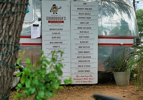 Austin's Gourdough's Big. Fat. Donuts.