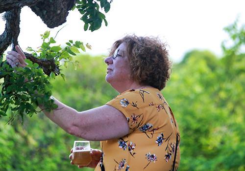 Lisa Luben on Vista Brewing Grounds