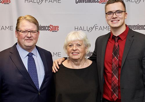 Scott Hill with his family
