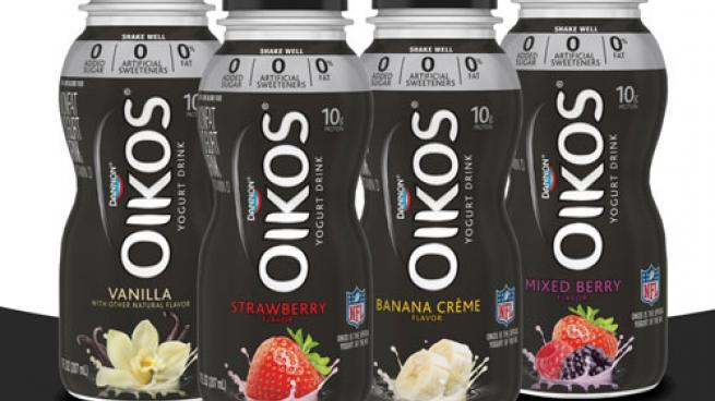Dannon Oikos Nonfat Yogurt Drinks