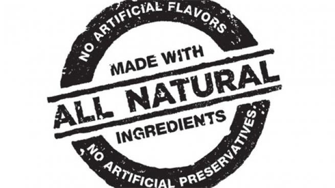 all natural label