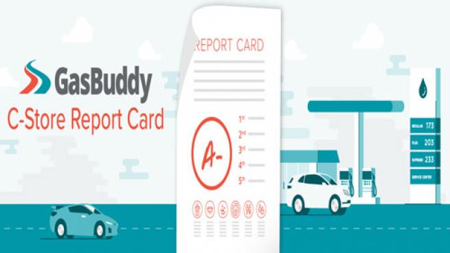GasBuddy C-store Report Card logo