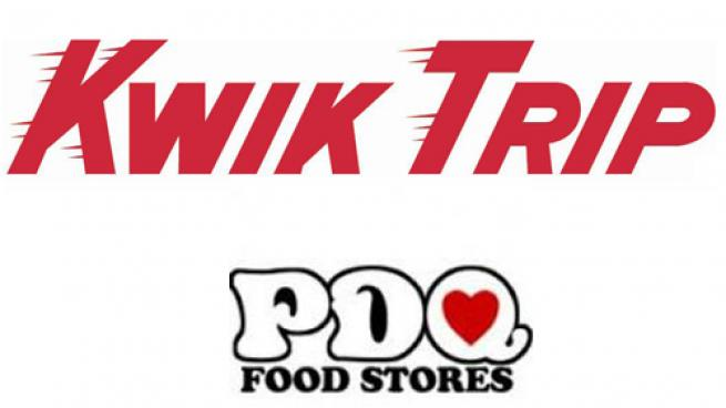 A combination of Kwik Trip and PDQ Food Stores logo
