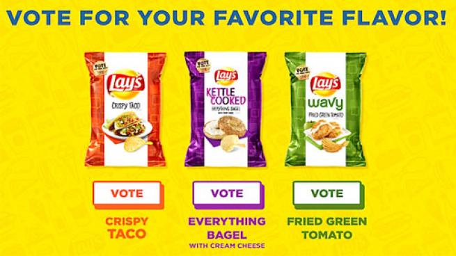 Consumers Choose Crispy Taco as 2017 Lay's 'Do Us a Flavor