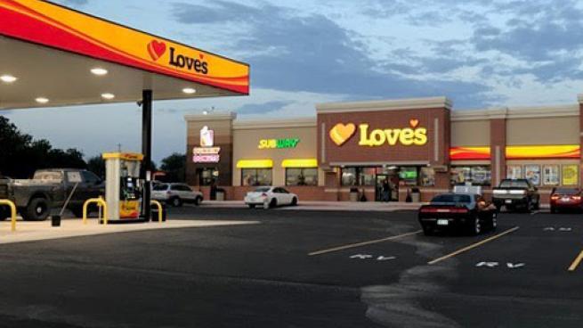 Love's Travel Stop in Newcastle, Okla.