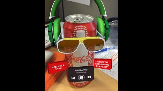 Coca-Cola Blippar