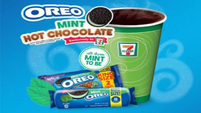 7-Eleven and Oreo Mint limited-time products