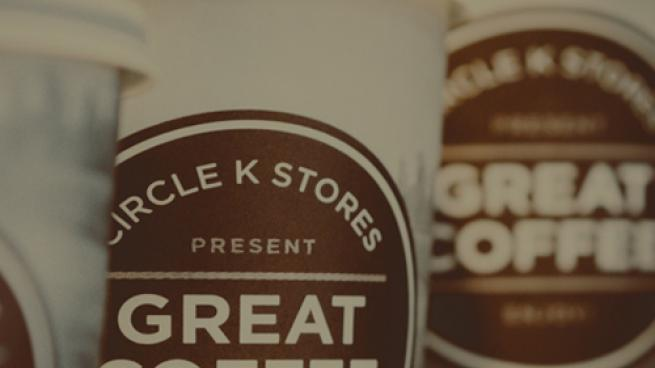 Circle K's Simply Great coffee cups