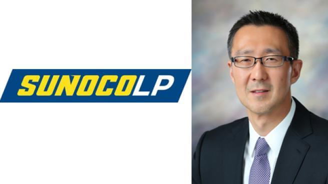 Joe Kim headshot with Sunoco LP logo