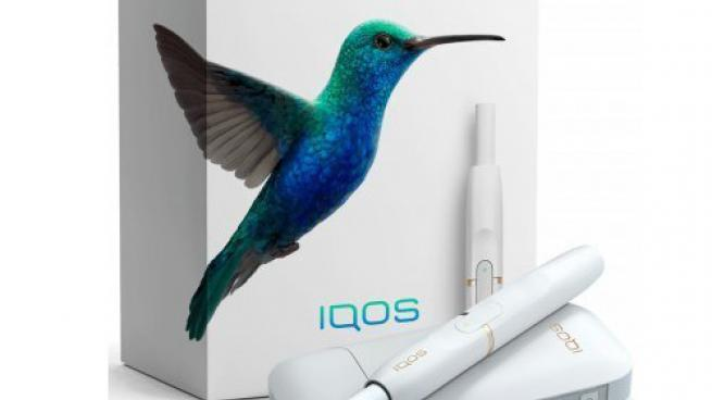 a pack of Philip Morris International's iQOS