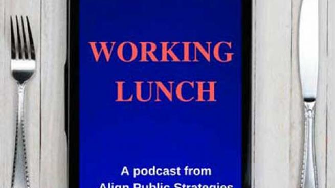 Working Lunch Podcast logo