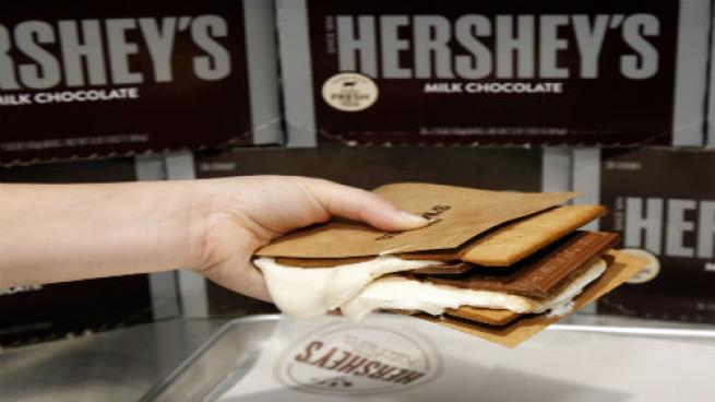 Hershey's Chocolate World Times Square S'mores Experience