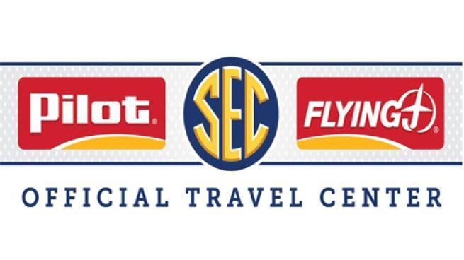 Pilot Flying J Official Travel Center SEC logo