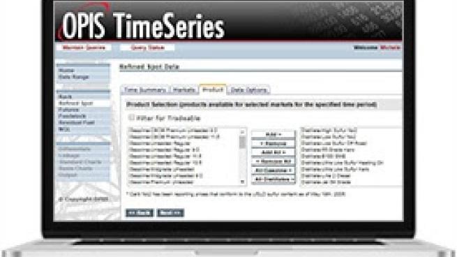 OPIS TimeSeries
