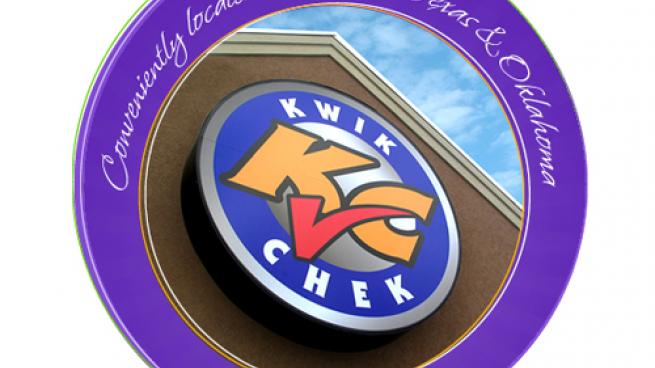 Logo for Kwik Chek Convenience Stores