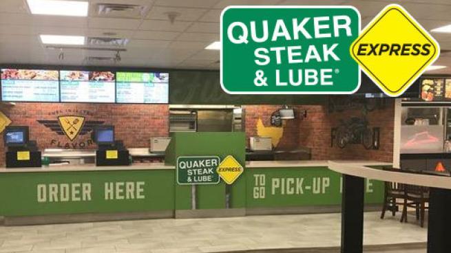 Quaker Steak & Lube Express walk-up concept