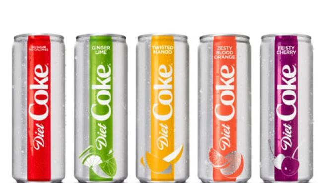Diet Coke's relaunch in slim cans