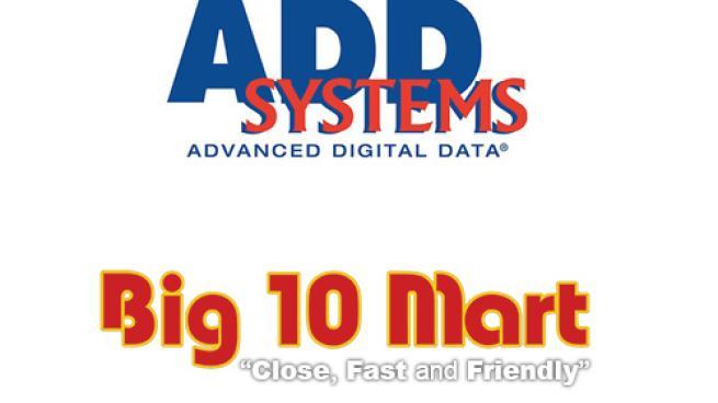 ADD Systems & Big 10 Mart logos