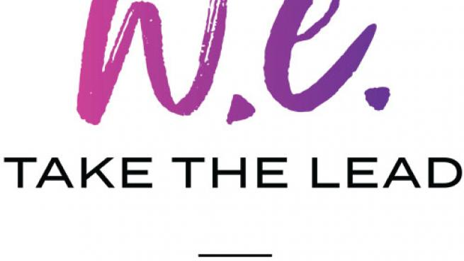 Logo for 7-Eleven's W.E. Take the Lead' Women's Franchise Giveaway Contest