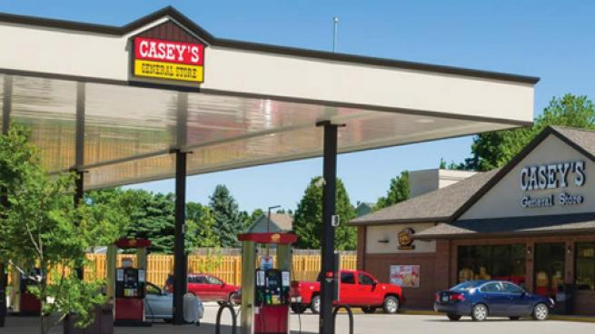 A Casey's convenience store