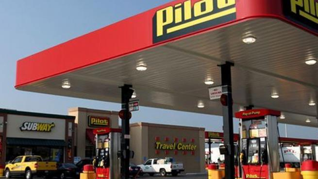 Pilot Flying J forecourt and exterior