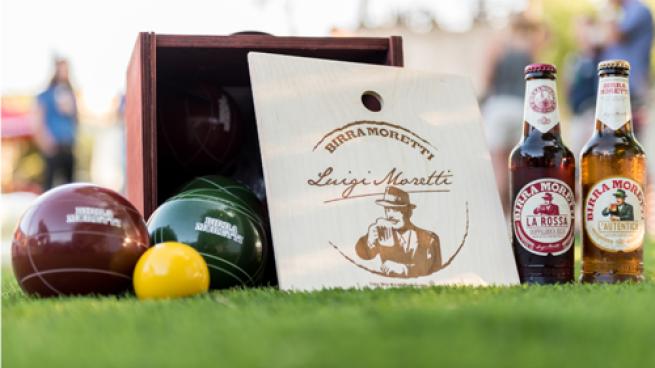 Birra Moretti Bocce Ball Program