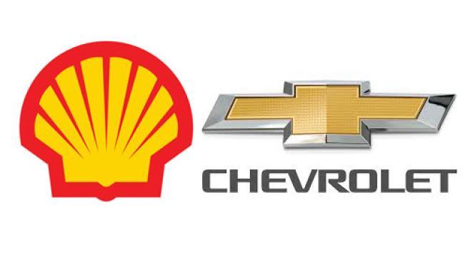 Shell & Chevrolet logos